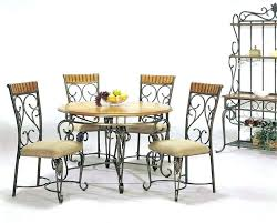 dining table with metal chairs iron dining room chairs surround your table with dining chairs iron
