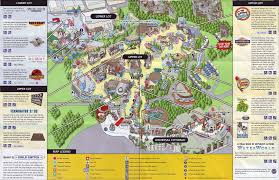Orlando Parks Map by Theme Park Brochures Universal Studios Hollywood Theme Park