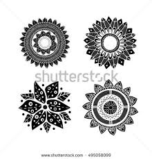 Polynesian Flower Tattoo - polinesia stock images royalty free images u0026 vectors shutterstock