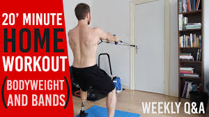 20 minute home workout build