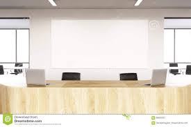 empty reception stock illustration image of interior 69594051