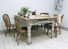 trendy distressed wood kitchen tables u2013 boldventure info