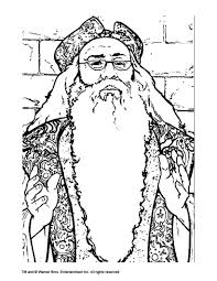 dumbledore coloring pages hellokids com