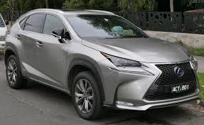 all new lexus nx compact lexus nx wikipedia