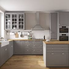 ikea bodbyn grey kitchen cabinets kitchen furniture ikea bodbyn 3d model