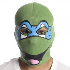 Leonardo Ninja Turtle Halloween Costume Teenage Mutant Ninja Turtles Leonardo Ski Mask Beanie Skull Cap