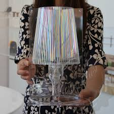 Bedside Table Lamp by Stardust Com Take Crystal Table Lamp Transparent Acrylic Table