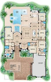 51 best plantas baixas images on pinterest architecture house luxury style house plans 3800 square foot home 1 story 4 bedroom and 4 3 bath 3 garage stalls by monster house plans plan
