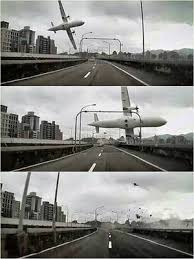 transasia plane crashes in taiwan river killing at least 23