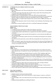 middle management examples middle office manager resume samples velvet jobs
