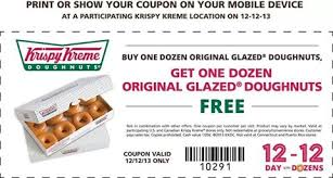 buy one dozen get one dozen free krispy kreme