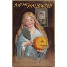 vintage halloween postcard signed by ellen clapsaddle printed in