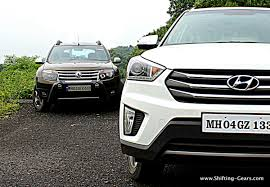 nissan terrano vs renault duster here u0027s how the hyundai creta whips the renault duster shifting gears