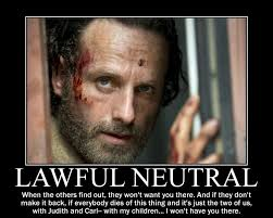 Rick Grimes Memes - rick grimes lawful neutral by magicskullball on deviantart