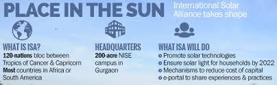 international solar alliance isa dr shakya current affairs