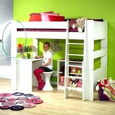 lit avec bureau coulissant lit mezzanine fille avec bureau engageant lit mezzanine enfant avec