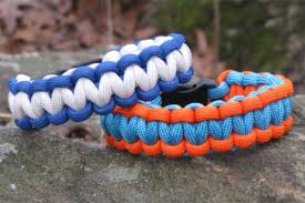 cobra knot bracelet images How to make a 2 color paracord bracelet with buckle jpg