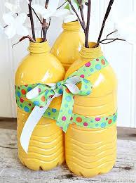 Diy Plastic Bottle Vase Diy Vases From Plastic Water Bottles Trashy Or Classy Petticoat