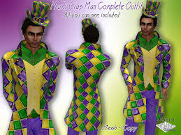 mardi gras costumes for men second marketplace mardi gras complete mesh