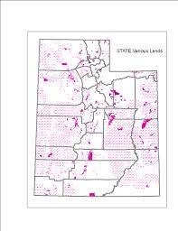 Map Of Counties In Utah by Webtext Geography Of Utah