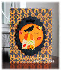 halloween birthday card october 2013 colleen dietrich designs