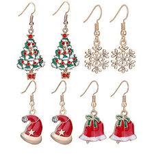 images of christmas earrings 18 best christmas earrings for girls women 2017 xmas jewelry
