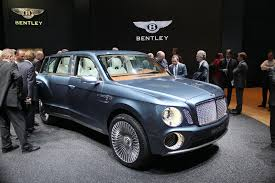 bentley concept car 2015 bentley already at work on revised suv design report