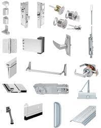 commercial aluminum glass doors commercial overhead door parts and accessories