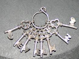 solid silver charm bracelet images Solid silver set of 8 keys charm for charm bracelet jpg