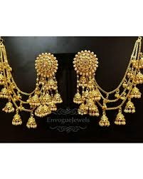 earring chain necklace images Thanksgiving sales are upon us get this deal on indian jhumka set