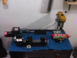Proxxon Bench Drill Sheline Lathe Turning Machine 4530a And Proxxon Drilling Bench
