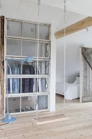 Separator Wall Closet Wall Of Glass Natural Light Upcycled Windows See