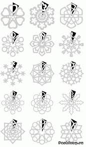 111 best snowflakes paper patterns tutorials images on