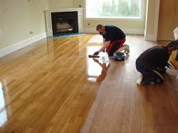 flooring wood floor refinished with dustless sanding refinishing