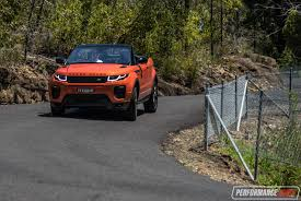 land rover ford range rover evoque convertible si4 review video performancedrive