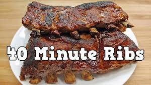 pressure cooker recipe baby back ribs instant pot youtube