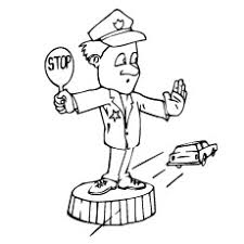 ingenious idea policeman coloring pages 10 police car