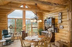 Log Home Decorating The Furniture Application In Log Home Decor Serenesin Com