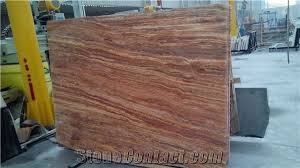 Cheap Floor Covering Iran Cheap Brown Red Travertine Polished Big Flag Slabs Tiles For