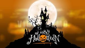 halloween motion background animation loop youtube