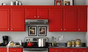 pictures of red kitchen cabinets red and black kitchen cabinets design of your house its good