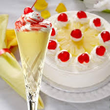 pineapple upside down cake protein milkshake protein milkshake bar