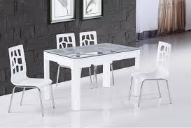 Table Salle A Manger Verre Design by Table Salle A Manger Carree Blanche 5 T110g Table Salle A