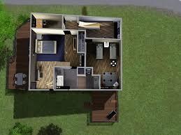 mod the sims split level home 20x20 no cc