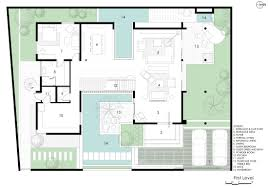 baby nursery house plans with courtyards in center small house