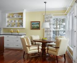 Dining Room Prints Sunshine Yellow Paint Dining Room Beach Style With Floral Art