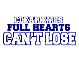 an exploration of the phrase clear hearts can t lose