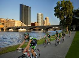 grand rapids biking bike trails on road and off road biking