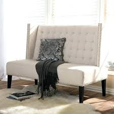 settee bench with storage tufted velvet storage bench settee