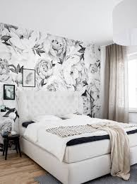 wallpaper by simple shapes temporary wallpaper peony flower mural wall art wallpaper black white peel and stick